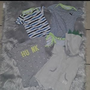 Puma and Carter's Baby clothes 6 & 9 months